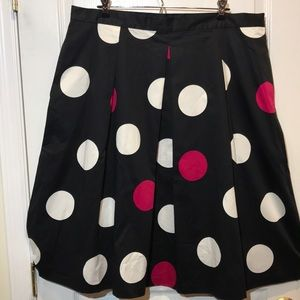 NWT Talbots polka dots skirt - Sz 20